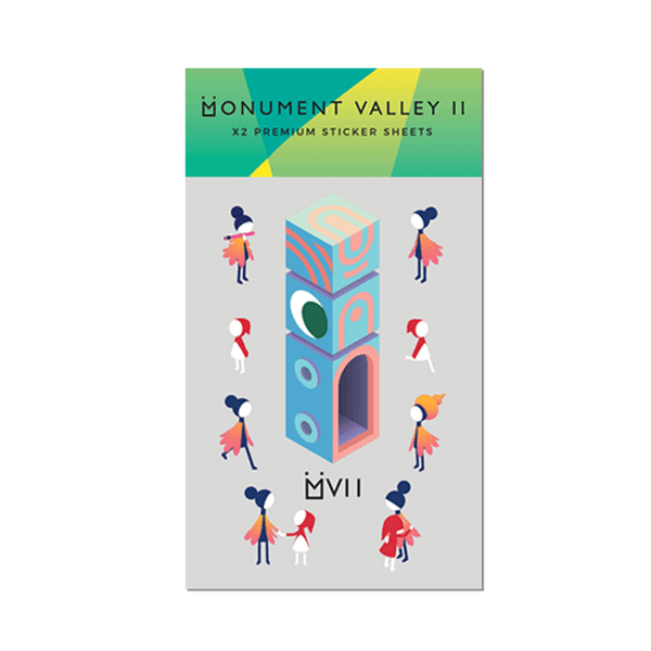 Monument Valley 2 - Premium Sticker Pack - iam8bit (Asia & Oceania)