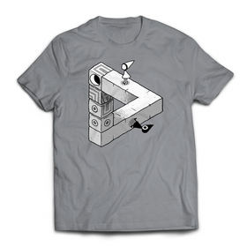 Monument Valley - Triangle T-shirt - iam8bit (Asia & Oceania)
