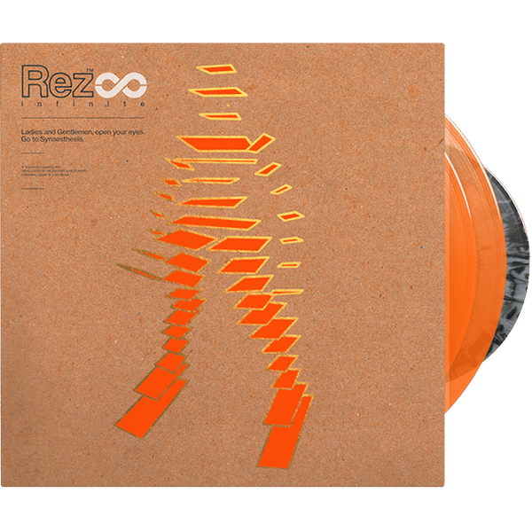 Rez Infinite - Vinyl Soundtrack 2xLP + Retrospective Book + 7