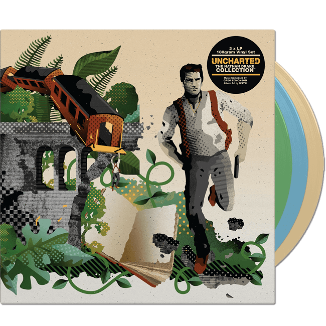 Uncharted: The Nathan Drake Collection Vinyl Soundtrack (3xLP) - iam8bit (Asie & Océanie)