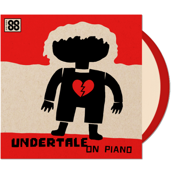 UNDERTALE on Piano (Series 88) 2xLP - iam8bit (Asia & Oceania)