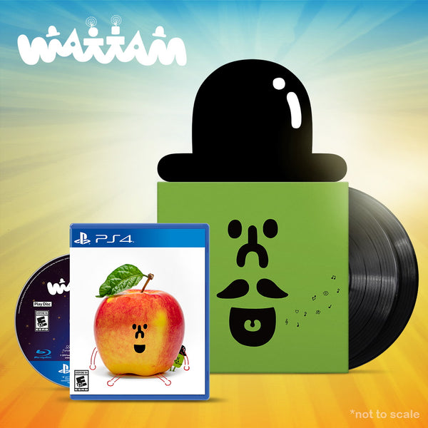 [Bandle] Wattam Vinyl soundtrack: Mattaw & PlayStation 4 Physical Edition