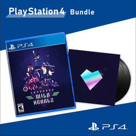 Sayonara Wild Hearts 「PlayStation 4 Physical Edition」 ✖︎ 「2xLP Vinyl 」Bundle