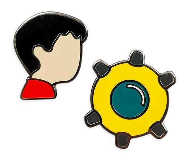Inside Pin Set - iam8bit (Asia & Oceania)