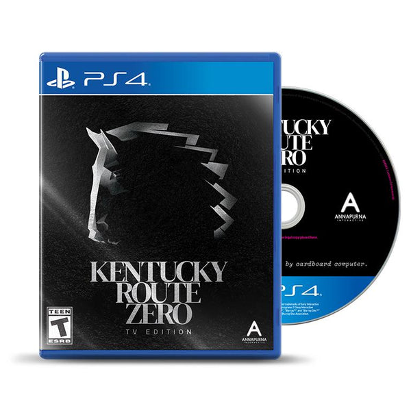 Kentucky Route Zero: TV Edition PS4 Physical Game