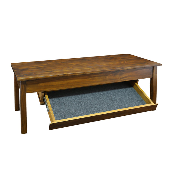 Long Coffee Table/ Hidden Compartment