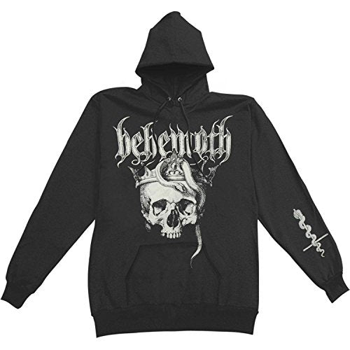 Behemoth - Men's Skull Pullover Hooded Sweatshirt Black