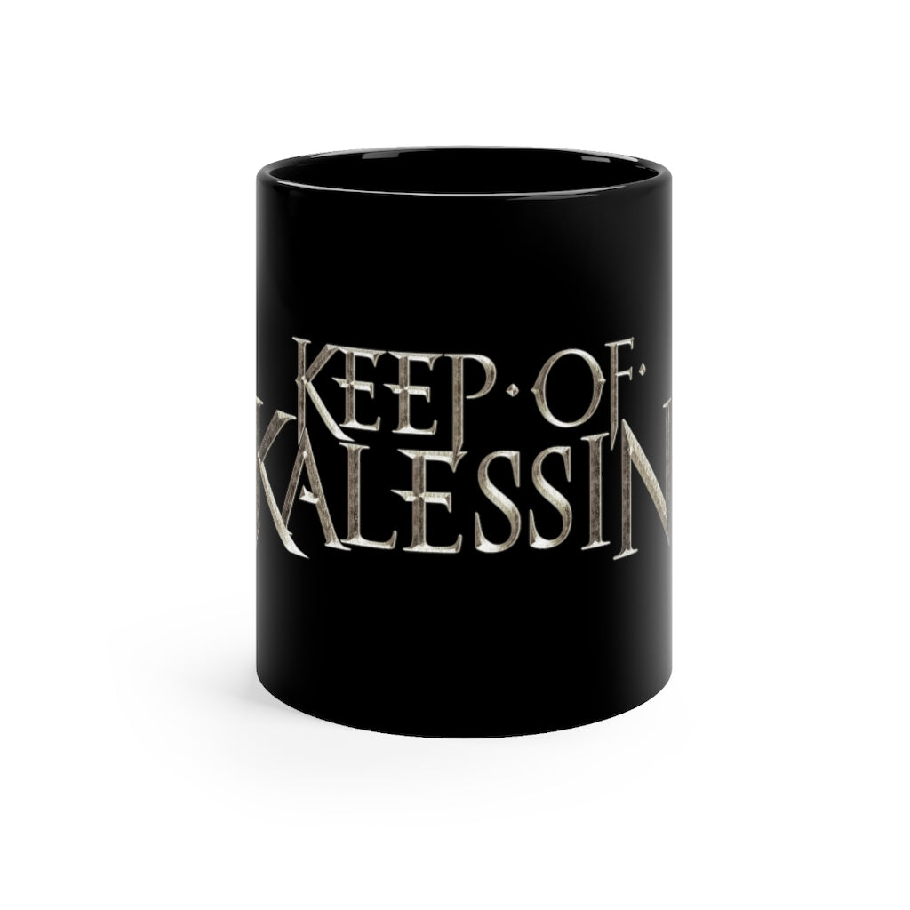 Keep Of Kalessin - Black mug 11oz