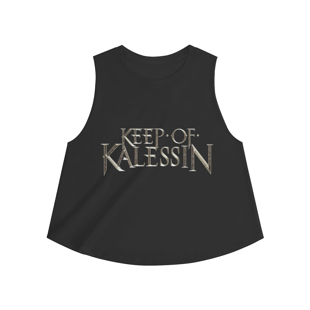 Keep Of Kalessin - Silver Logo Women's Crop top