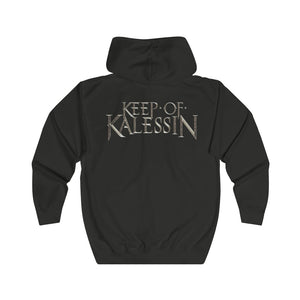 Keep Of Kalessin - Unisex Full Zip Hoodie