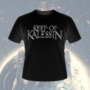 Keep Of Kalessin - Silver Logo T-shirt