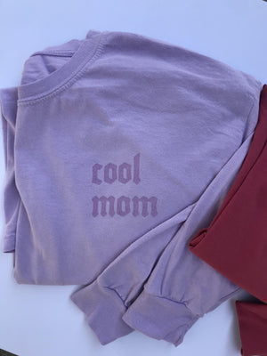 Open image in slideshow, LONG SLEEVED COOL MOM TEE