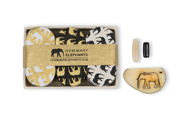 Monochrome Elephant Conservation Gift Boxes