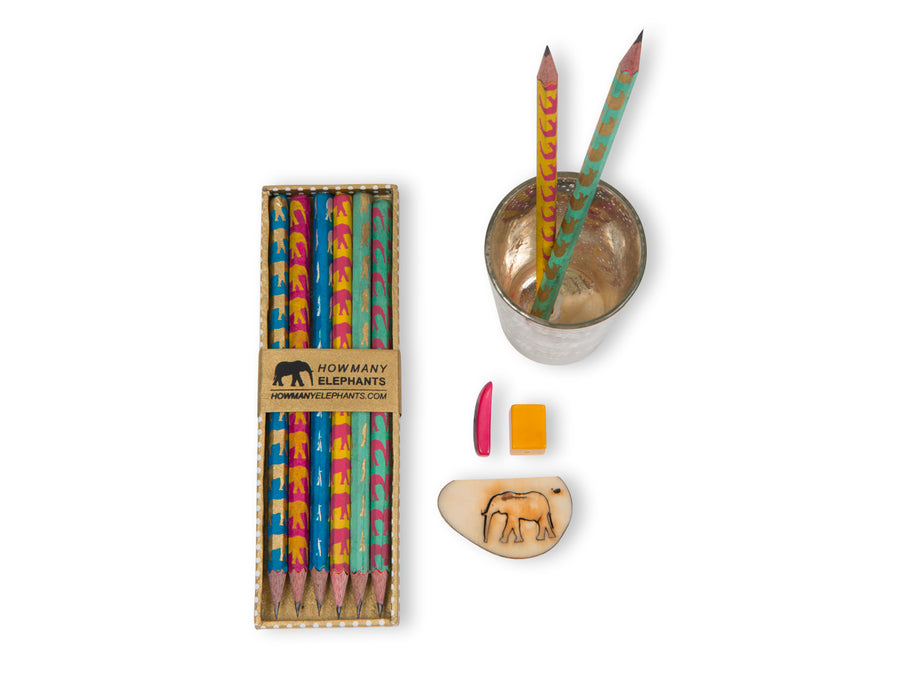 Multi-coloured Pencil Set