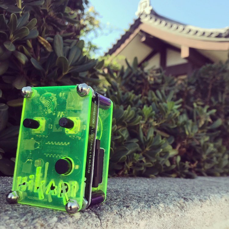 光 Hikari Pocket Synthesizer ASSEMBLED