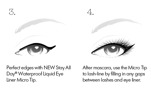 cat eye step 3 and 4