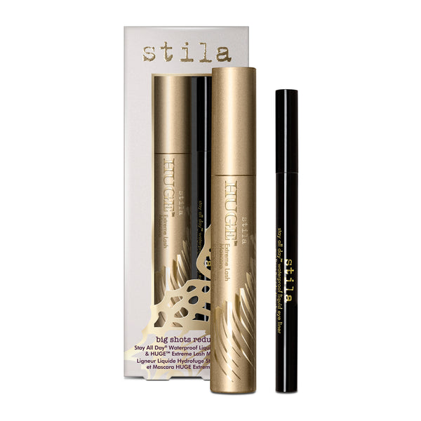 Big Shots Redux - Stay All Day® Waterproof Liquid Eye Liner & Huge™ Extreme Lash Mascara - Big Shots Redux - Stay All Day® Waterproof Liquid Eye Liner & Huge™ Extreme Lash Mascara - Stila Canada