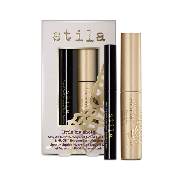 Little Big Shots - Stay All Day® Waterproof Liquid Eye Liner & Huge™ Extreme Lash Mascara - Little Big Shots - Stay All Day® Waterproof Liquid Eye Liner & Huge™ Extreme Lash Mascara - Stila Canada
