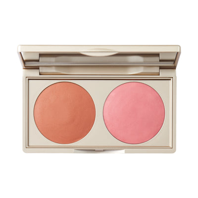Stila Canada Putty Blush/Bronzer Duo Bronzer With Pink Undertones / Cheek Cool Light Pink
