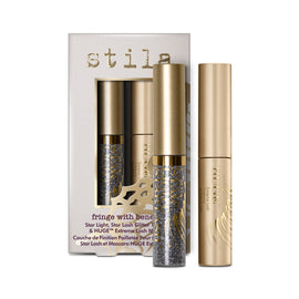 Fringe With Benefits - Star Light, Star Lash Glitter Top Coat & Huge™ Extreme Lash Mascara - Fringe With Benefits - Star Light, Star Lash Glitter Top Coat & Huge™ Extreme Lash Mascara - Stila Canada