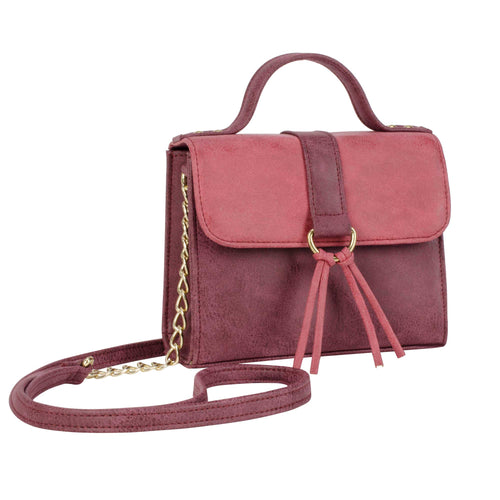 Two-Toned Hand Bag - special - Stila Canada