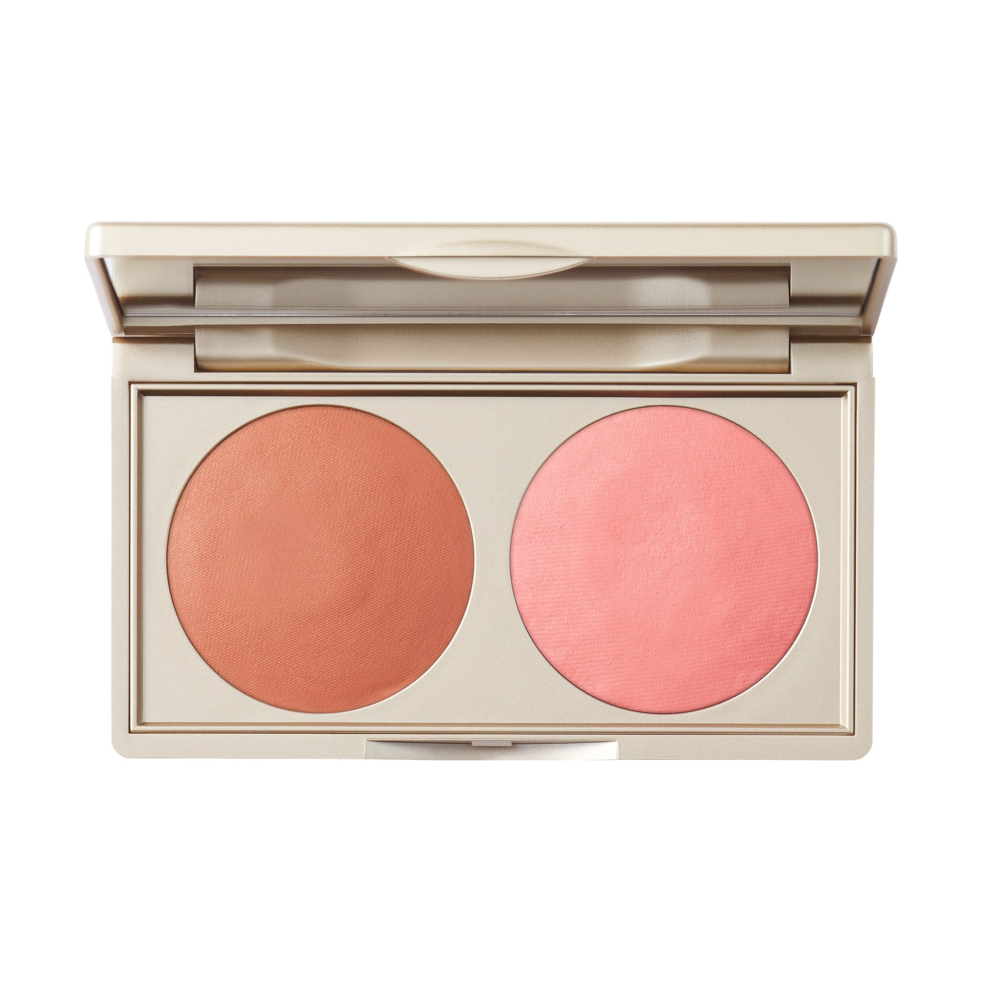 Stila Canada Putty Blush/Bronzer Duo Bronzer With Pink Undertones / Cheek Warm Peach