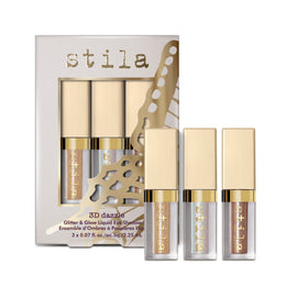 3d Dazzle - Glitter & Glow Liquid Eye Shadow Set - 3d Dazzle - Glitter & Glow Liquid Eye Shadow Set - Stila Canada