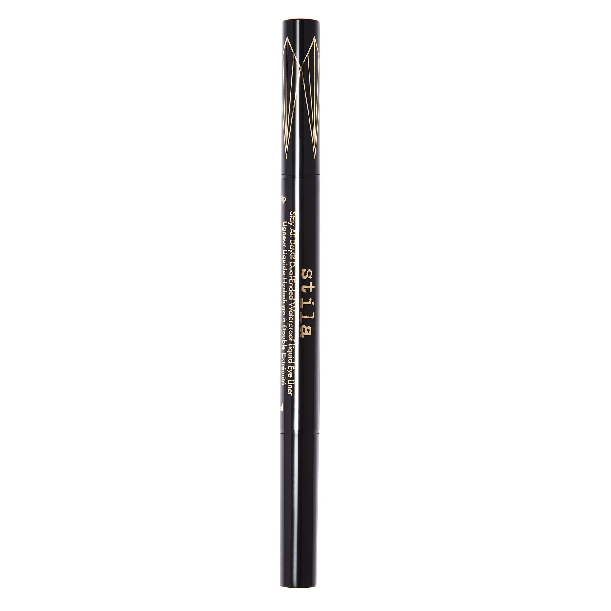Stila Canada Stay All Day® Dual-Ended Waterproof Liquid Eye Liner Intense Black