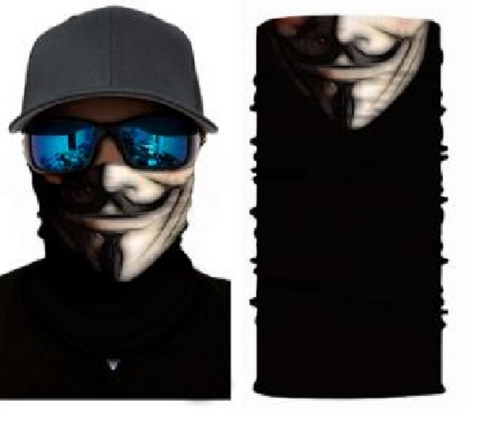 MeanMuggz face wear - Guy Fawkes