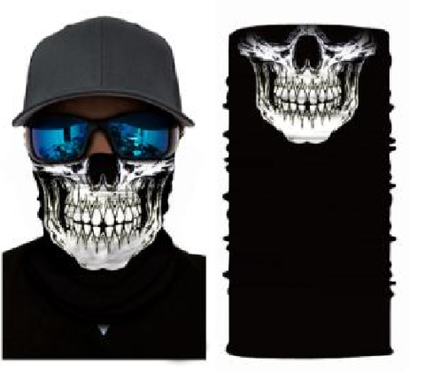 MeanMuggz face wear - Skull 1