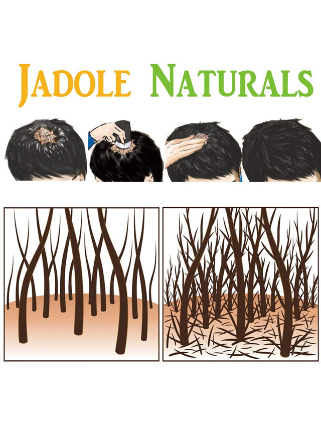 Dark Brown Hair Fibers 100% Natural