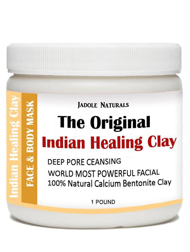 Indian Healing Clay The Original Deep Pore Cleansing, 1 Pound