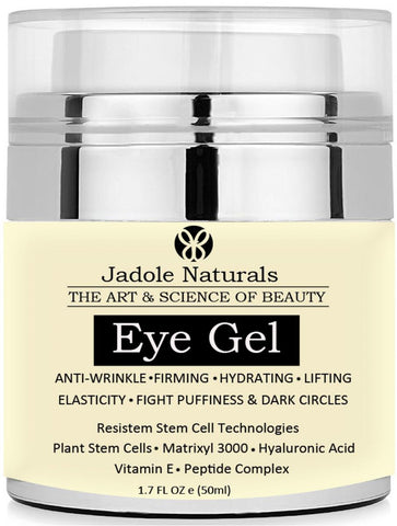Naturals Eye Gel for Dark Circles, Puffiness, Wrinkles and Bags