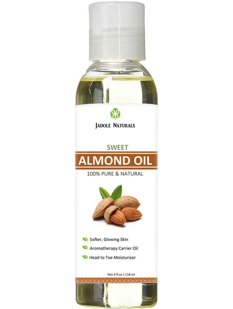 Sweet Almond Oil for Hair, Skin and Eyelash