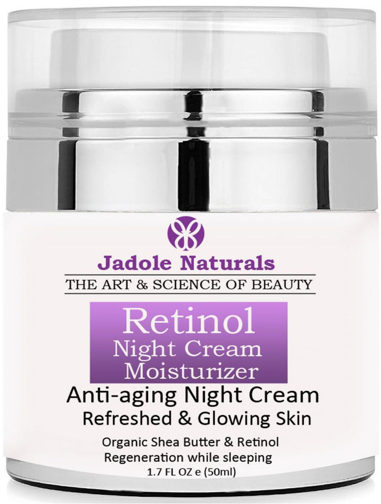 Beauty Retinol Moisturizer Night Cream for Face and Eye Area