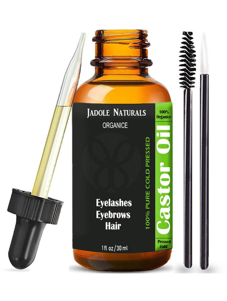 Castor Oil Eyebrow and Eyelash Pure Organic