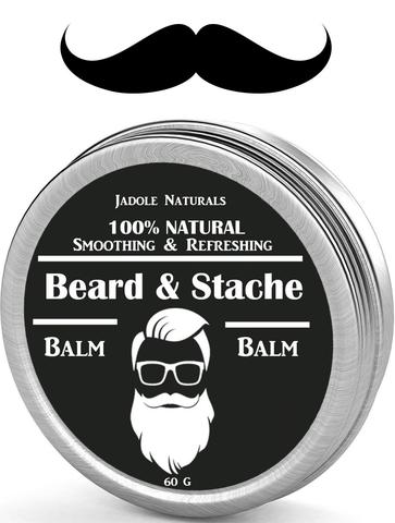 Beard Balm Leave-in Conditioner, All Natural
