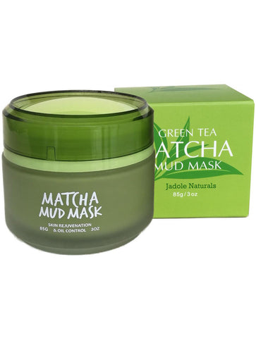 Jadole Naturals Matcha Facial Green Tea Mud Mask