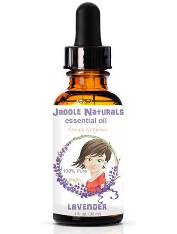 Lavender Essential Oil 100% Pure, 1oz With Drop Cap