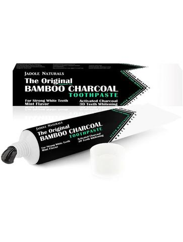 Bamboo Charcoal Toothpaste 3D Whitening