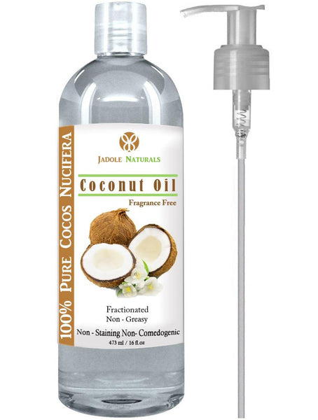 Fractionated Coconut Oil Massage Oils for Hair and Skin - Liquid MCT Natural and Pure Body Oil Carrier Massage Oil