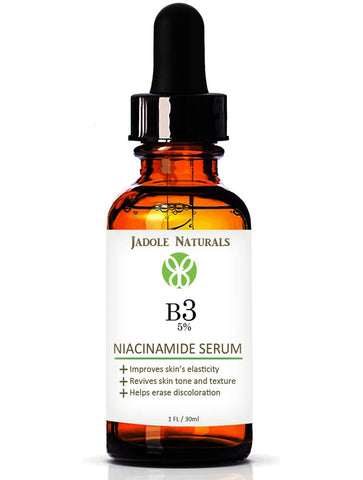 Niacinamide Vitamin B3 Serum for Face 5%- 1 Oz - Visibly Beautify Pores and Wrinkles and Other Signs of Aging - Superior Moisturizing Skin Brightening Facial Serum