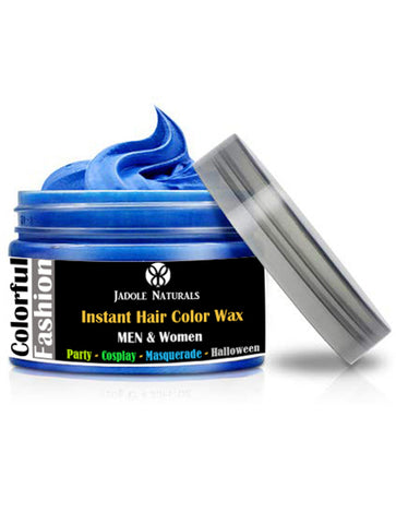 Blue Temporary Hair Coloring Wax