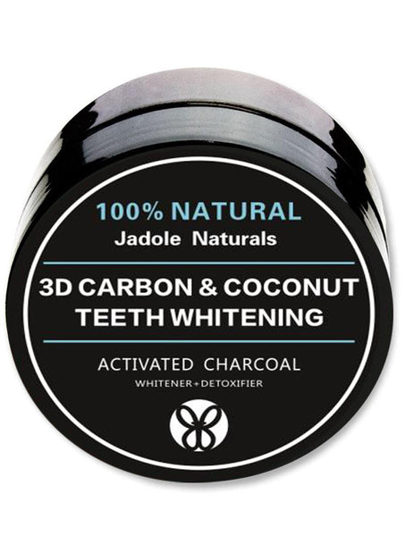 Natural 3D Carbon Activated Organic Charcoal Teeth Whitening Coco nut Powder