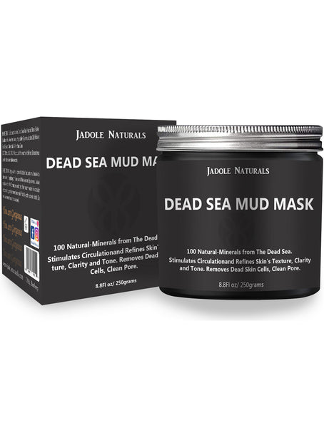 Dead Sea Natural Mud Mask For Face and Body 8.8 fl.oz
