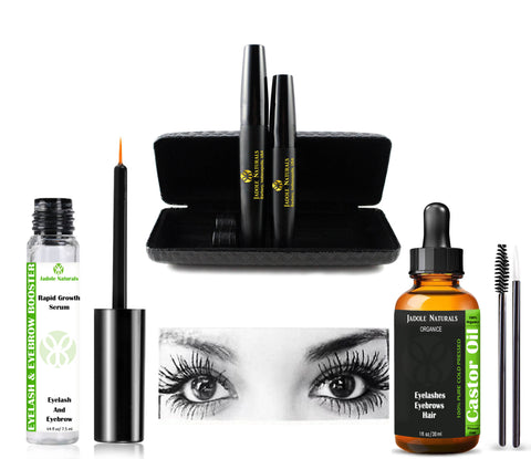 Rapid Growth Serum + Castor Oil + 3D Fiber Mascara