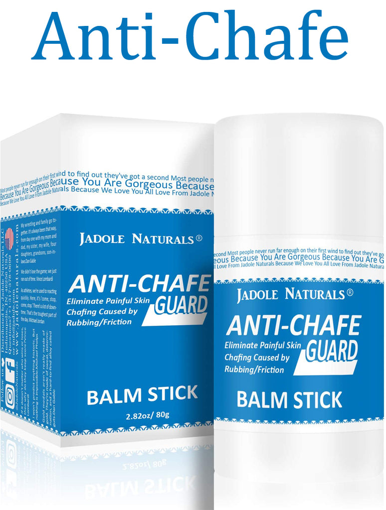 Anti Chafe Guard Balm Stick Anti Friction with Shea Butter 2.82 oz