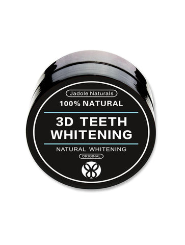 3D Teeth Whitening Activated Charcoal and coco nut, Natural Whitening