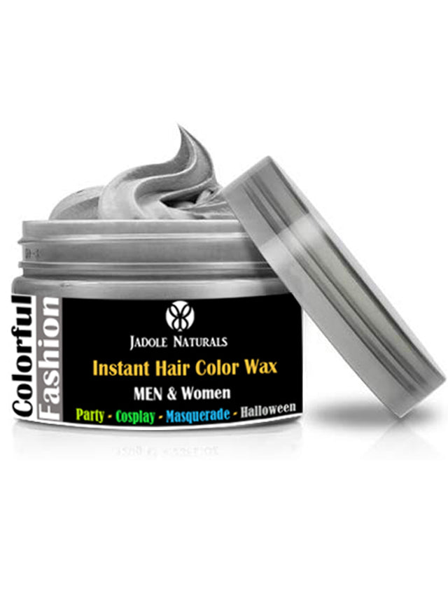 Silver Ash Temporary Hair Coloring Wax