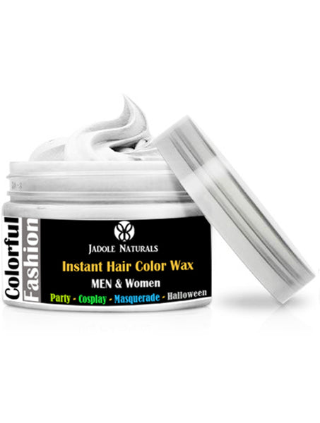 White Temporary Hair Coloring Wax